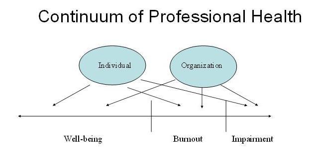 Continuum of Professional Health