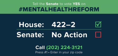 MHLG: Friday, September 2 is Mental Health Reform Call-In Day for Senate